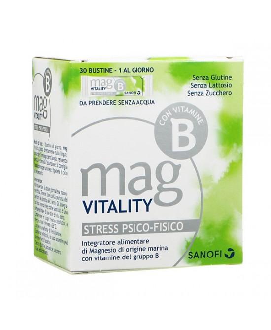 Mag Vitality Integratore Alimentare 30 Bustine Orosolubili - Farmaciaempatica.it