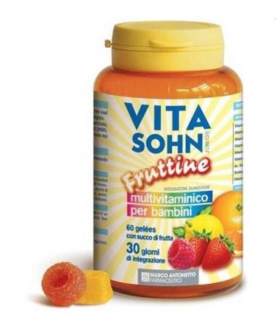 Vita Sohn Junior Integratore Alimentare 60 Caramelle - farma-store.it
