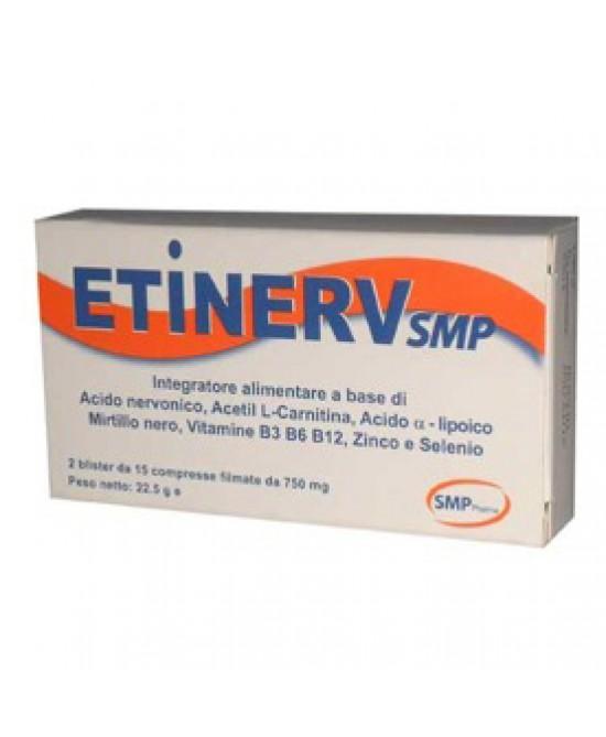 Smp Pharma Etinerv Integratore Alimentare 30 Compresse - Farmacia 33