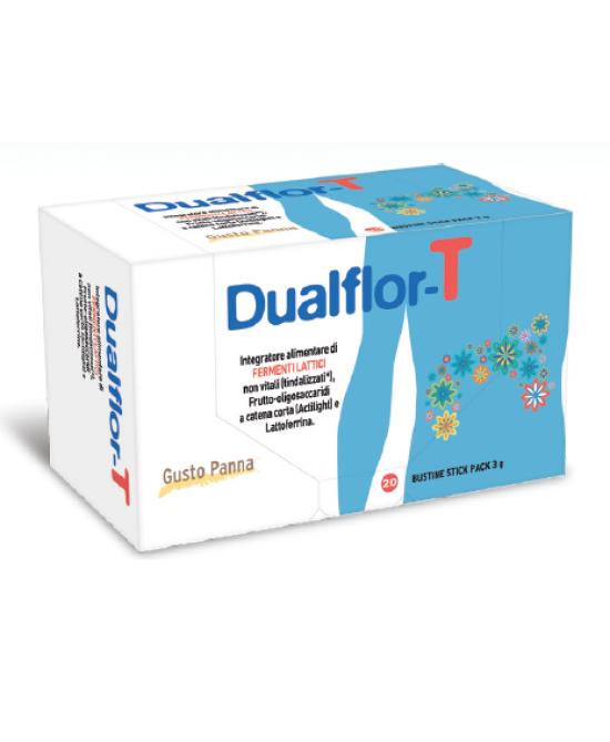 Dualflor-T Integratore Alimentare 20 Bustine - Farmacia 33