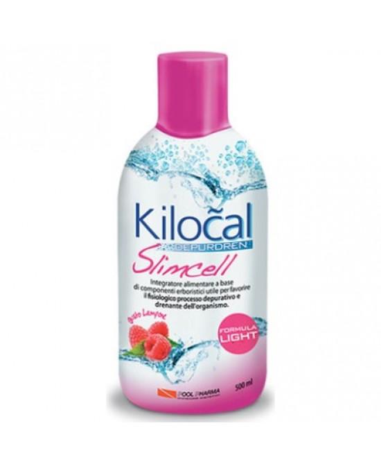 Kilocal Depurdren Slimcell Gusto Lampone 500 ml - La tua farmacia online