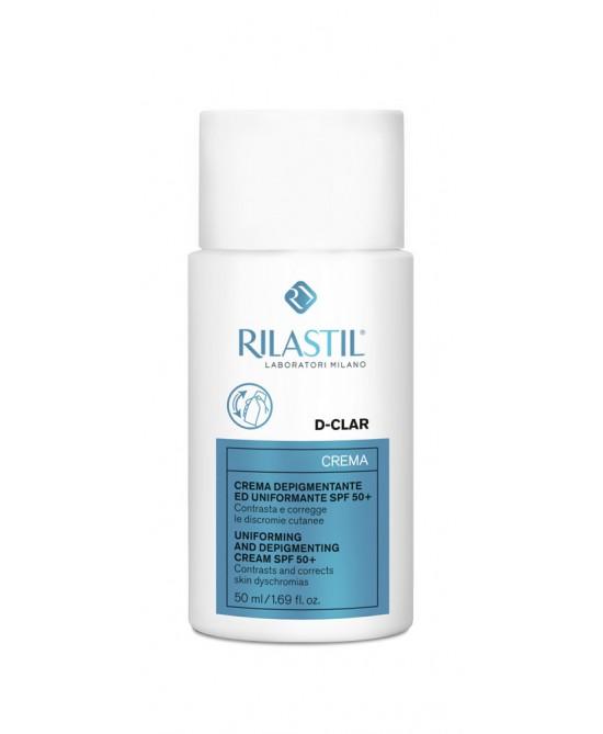 Rilastil D-Clar Crema Depigmentante Uniformante SPF50+ 50ml - Zfarmacia