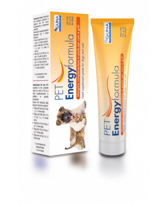 Guna PET Energyformula Mangime Complementare (Pasta) 50g - Farmacento