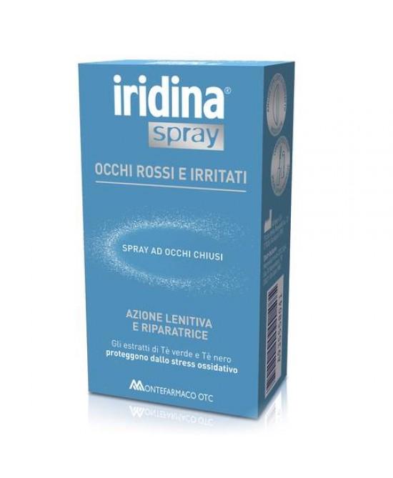 Iridina Spray Occhi Rossi e Irritati 10 ml - La tua farmacia online