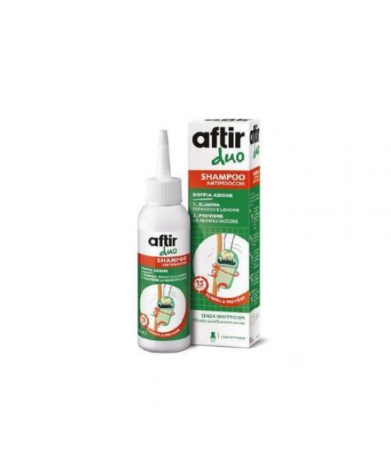 Meda Pharma Aftir Duo Shampoo Antipidocchi 100ml - Farmacento