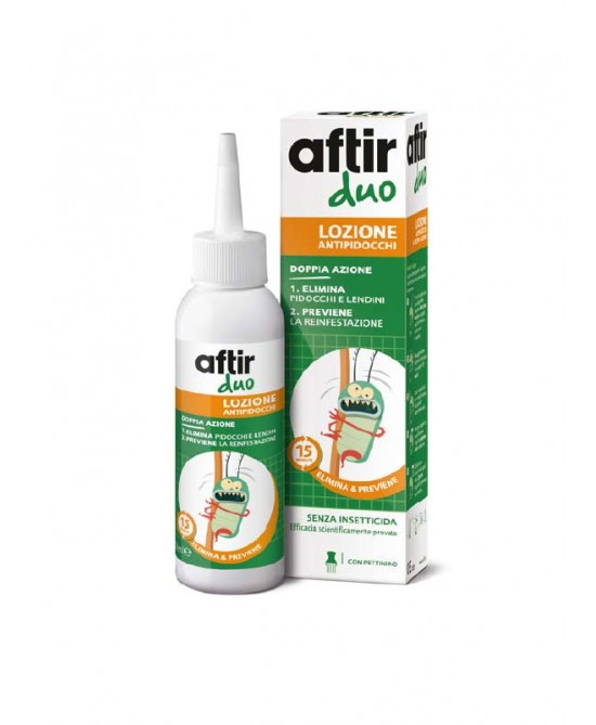 Meda Pharma Aftir Duo Lozione Antipidocchi 100ml - Farmacia 33