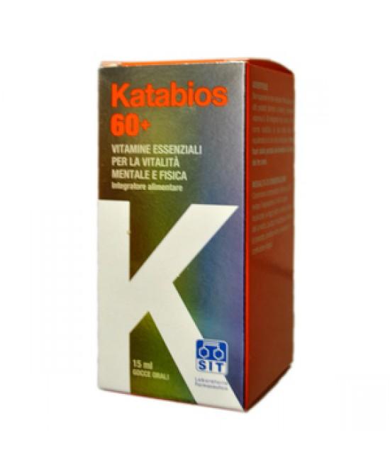 Katabios 60+ Gocce Integratore Alimentare 15ml - Farmacia 33