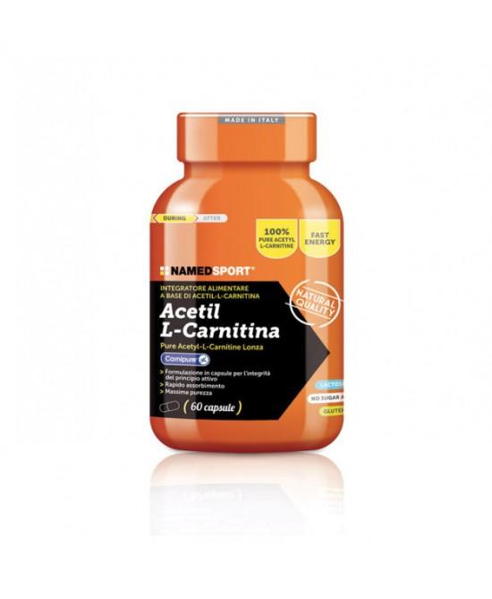 NamedSport Acetil L-Carnitina Integratore Alimentare 60 Compresse - Farmamille