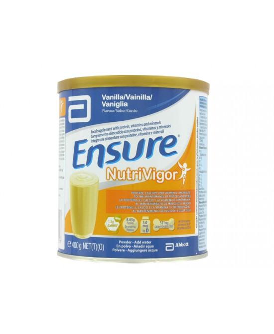 Ensure Nutrivigor Vaniglia Integratore Alimentare 400g - Zfarmacia