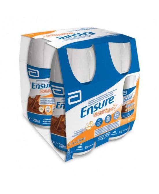Ensure NutriVigor Cioccolato Integratore Alimentare 4x220ml - La tua farmacia online