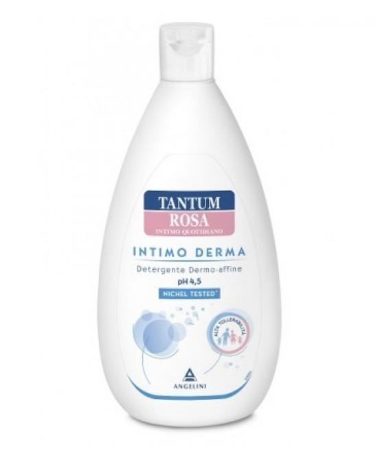Tantum Rosa Intimo Derma Detergente Dermo Affine pH 4.5 500ml - Farmawing