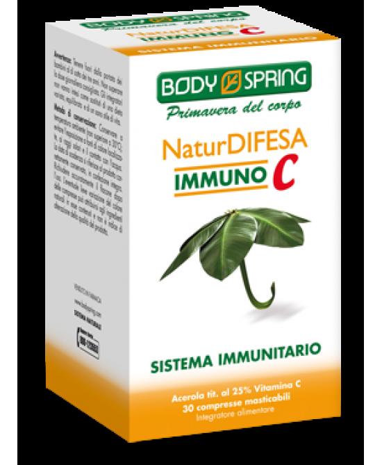 Body Spring NaturDifesa Immuno C 30 Compresse - Farmalilla