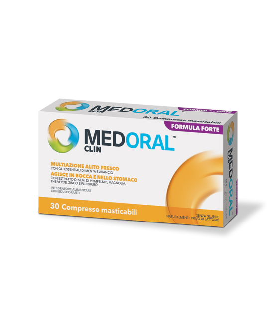Medoral Clin Alito Fresco Senza Glutine 30 Compresse Masticabili - La tua farmacia online