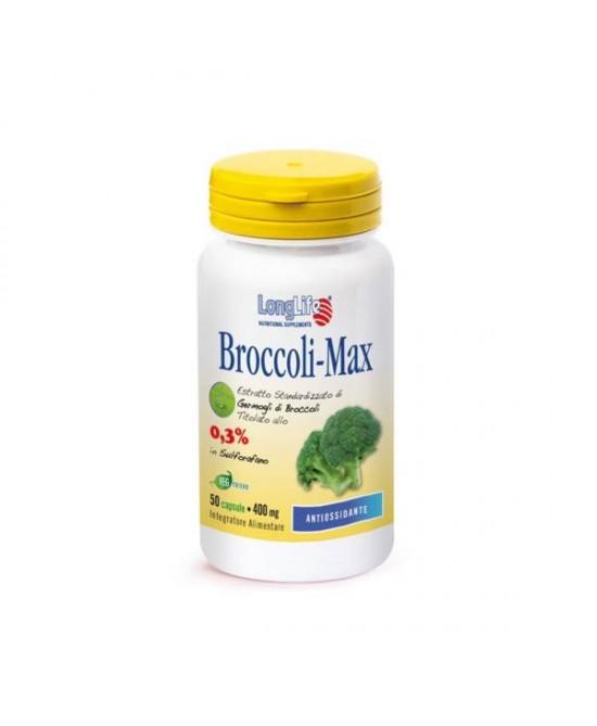 LongLife Broccoli Max Integratore Alimentare 60 Capsule Vegetali - Zfarmacia