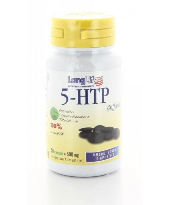 Longlife 5-HTP Integratore Alimentare 60 Capsule Vegetali - Zfarmacia
