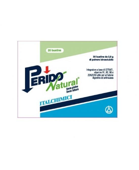 Italchimici Perido Natural Forte Integratore Alimentare 30 Capsule Softgel - Farmacento
