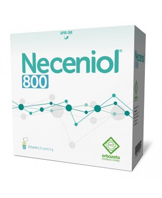 Erbozeta Neceniol 800 Integratore Alimentare 20 Bustine - Farmamille