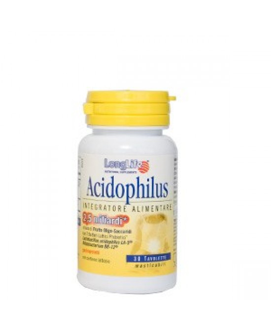 Longlife Acidophilus Integratore Alimentare 60 Compresse - Zfarmacia