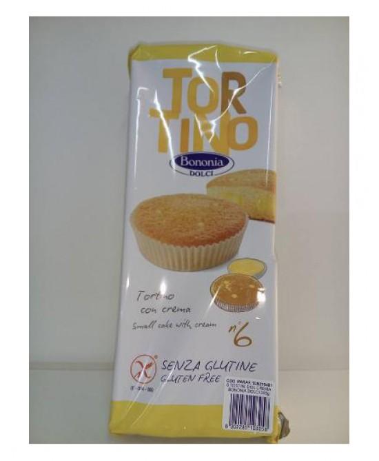 Bononia Tortino In Crema Senza Glutine 300g - FARMAEMPORIO