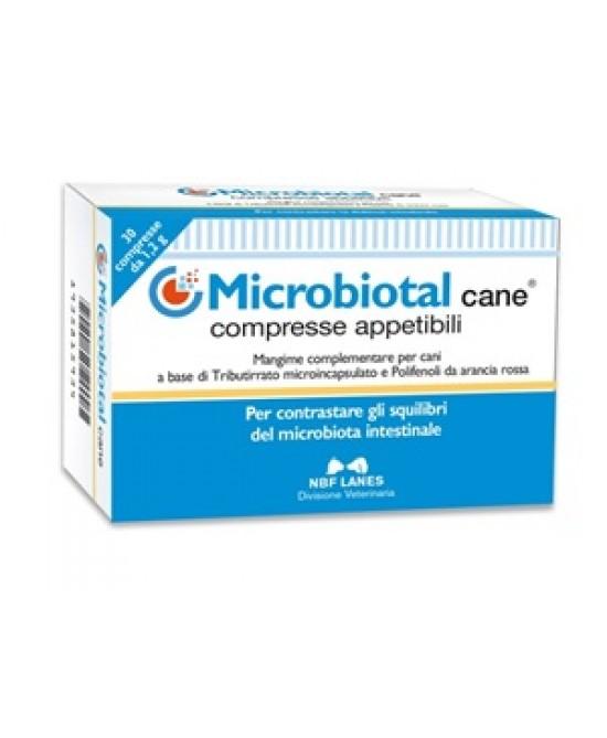 Microbiotal Cane Integratore Alimentare Uso Vaterinario 30 Compresse Appetibili - La tua farmacia online