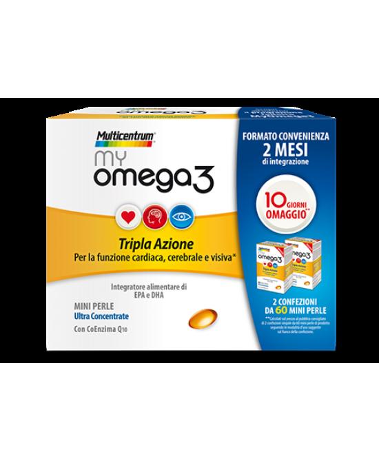 Multicentrum My Omega3 Integratore Alimentare 120 Perle - Zfarmacia