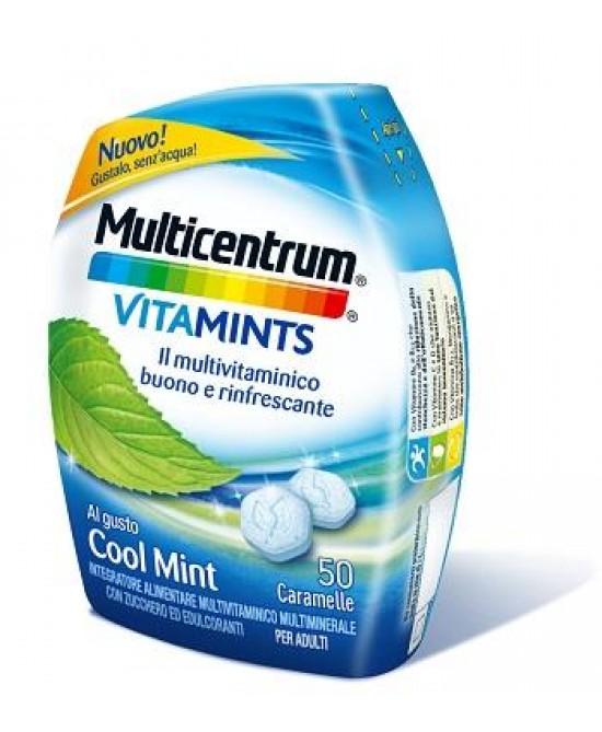 Multicentrum VitaMints Gusto Cool Mint 50 Caramelle - La tua farmacia online