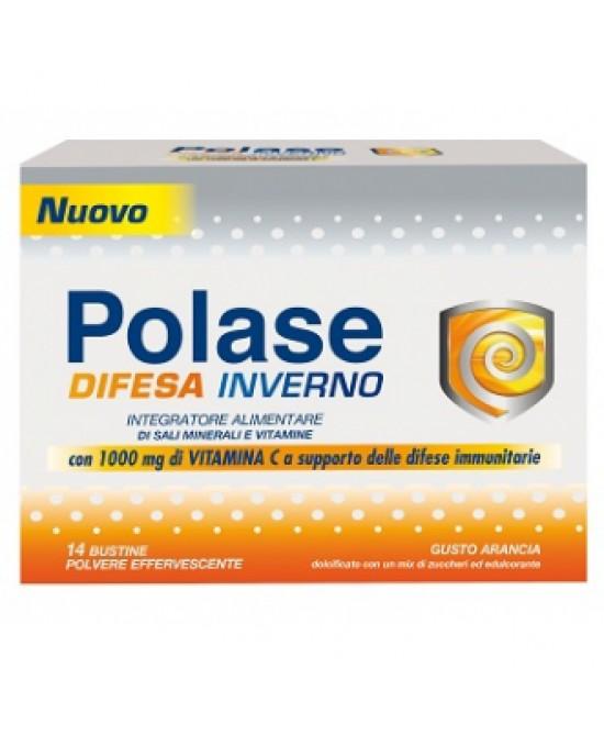 Polase Difesa Inverno Integratore Sali Minerali e Vitamine 14 Bustine da 9,9 g - La tua farmacia online