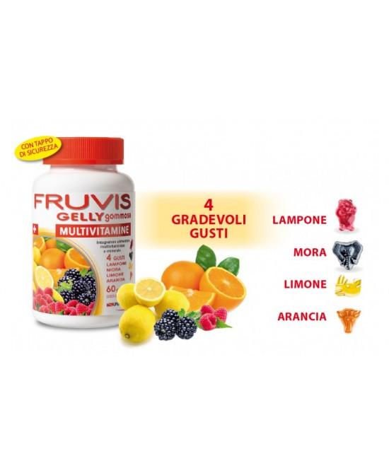 Pool Pharma Fruvis Gelly Gommose 60 Caramelle  - La tua farmacia online