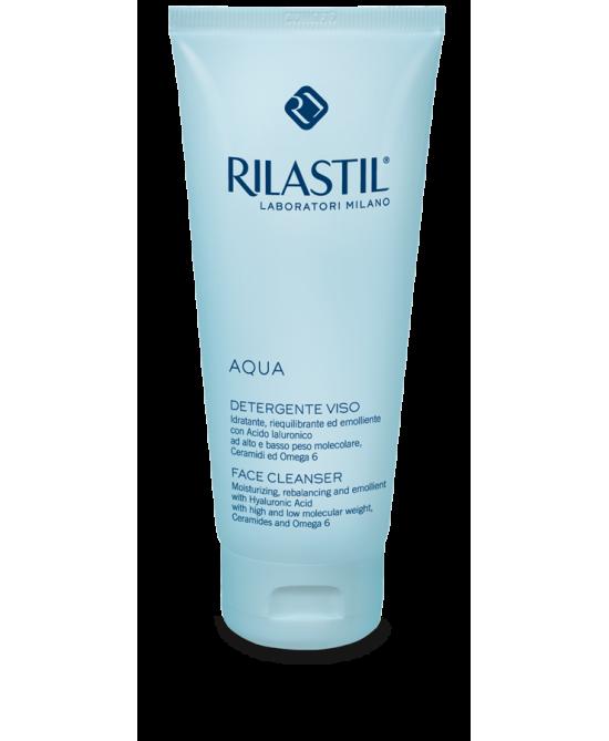 Rilastil Aqua Detergente Viso 200ml - Zfarmacia