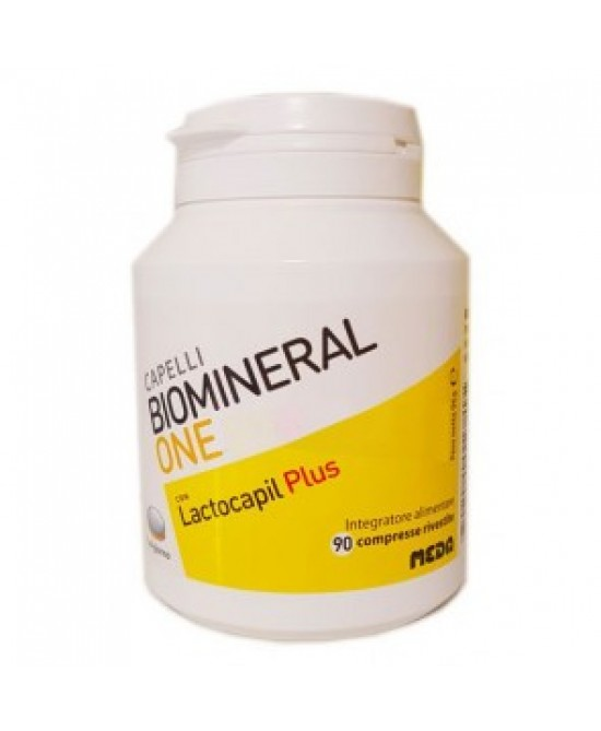 Biomineral One Lactocapil Plus Integratore Alimentare 90 Compresse - FARMAPRIME