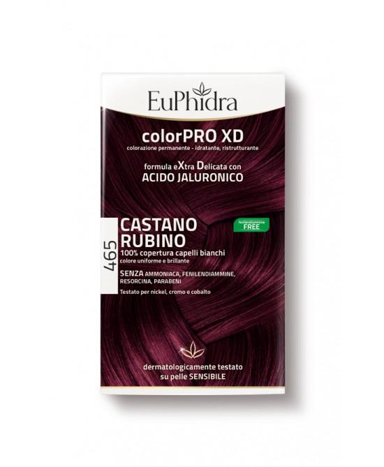 EuPhidra Colorpro XD Tintura Extra Delicata Colore 465 Castano Rubino - FARMAPRIME