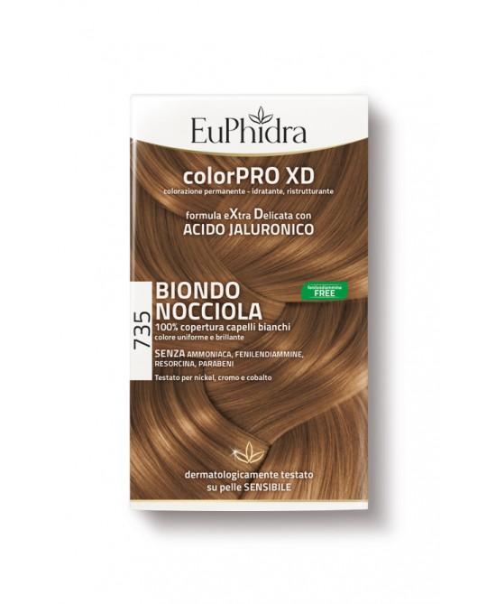 EuPhidra Colorpro XD Tintura Extra Delicata Colore 735 Biondo Nocciola - FARMAPRIME