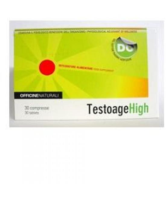 Testoage High 30cpr 900mg - Farmacia 33