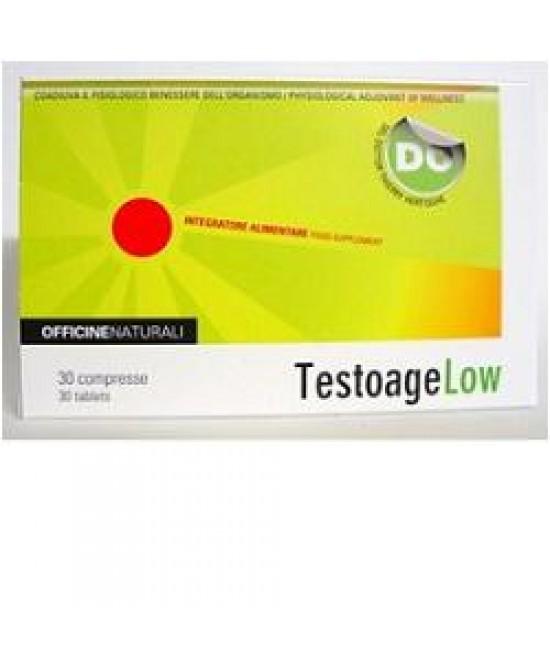 Testoage Low 30cpr 850mg - Farmacia 33