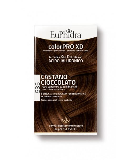 EuPhidra Colorpro XD Tintura Extra Delicata Colore 535 Castano Cioccolato - Farmaciaempatica.it
