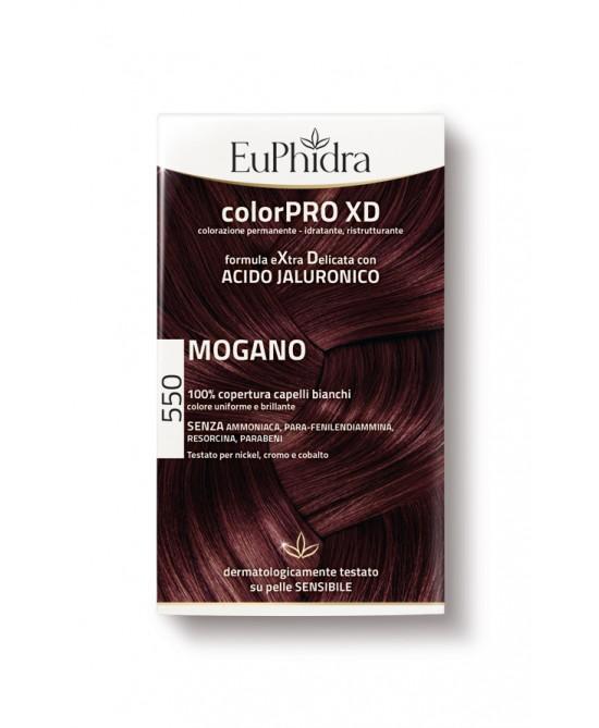 EuPhidra Colorpro XD Tintura Extra Delicata Colore 550 Mogano - Farmacento