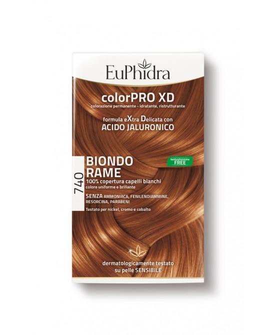 EuPhidra Colorpro XD Tintura Extra Delicata Colore 740 Biondo Rame - Farmacento
