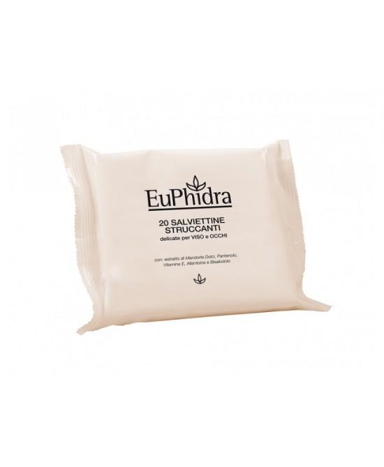 EuPhidra Salviettine Struccanti 20 Pezzi - Farmaciaempatica.it