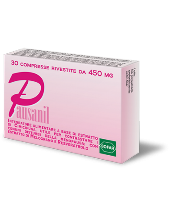 Sofar Pausanil Integratore Alimentare Menopausa 30 Compresse - La tua farmacia online