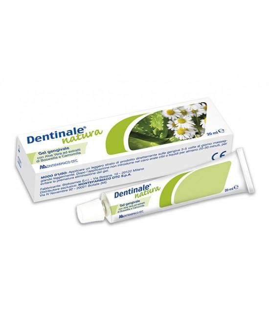 Montefarmaco OTC Dentinale Natura Gel Gengivale Dispositivo Medico 20ml - Farmawing