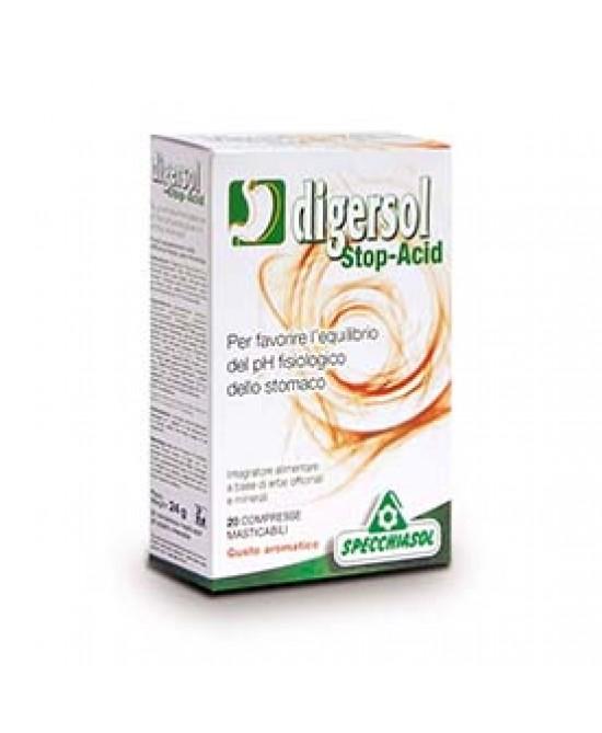 Digersol Stop-acid 20 compresse - Farmacia 33
