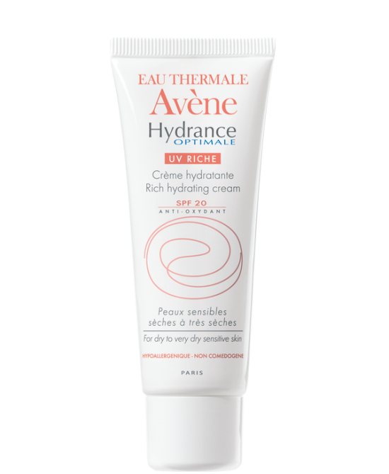 Avène Hydrance Crema Ricca Viso Spf 20 Tubetto da 40 ml - Farmastar.it