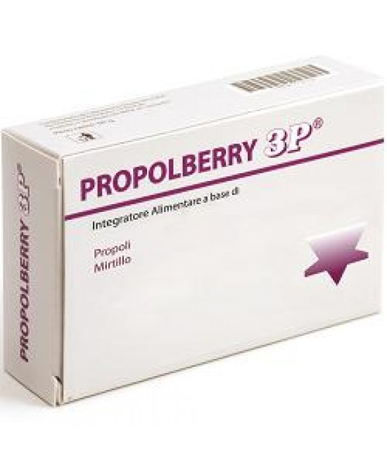 Propolberry 3p 30cpr - farma-store.it
