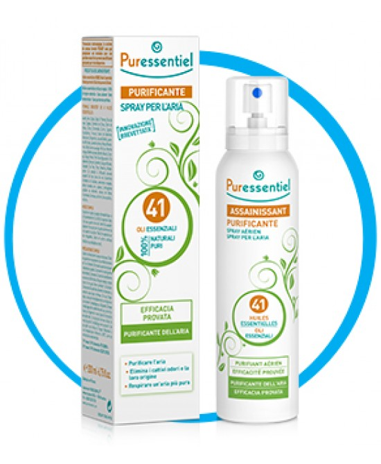 Puressentiel Purificante Spray 41 Olii Essenziali 200ml - Farmaciaempatica.it