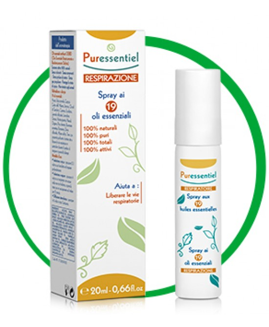 Puressentiel Respirazione Spray 20ml - Farmaciaempatica.it