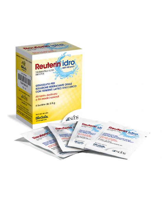 Nòos Reuterin Idro Integratore Alimentare 6 Bustine - La tua farmacia online