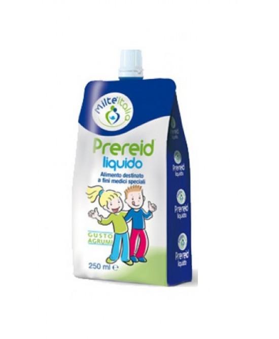 Milte Italia Prereid Liquido Gusto Agrumi Integratore Alimentare 250ml - Farmacento