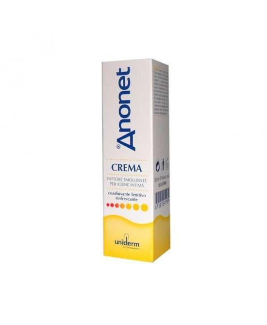 Uniderm Anonet Crema Fattore Emolliente Per Igiene Intima 50ml - Farmacento