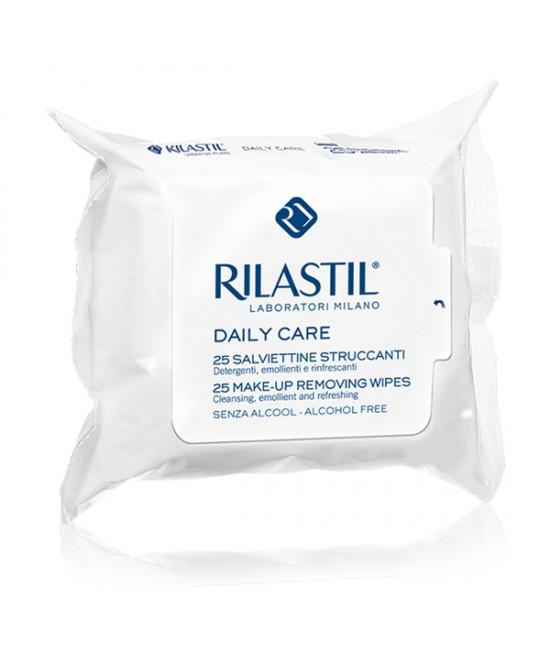 Rilastil Daily Care Salviettine Struccanti Trattamento Viso 25 Salviettine - farma-store.it