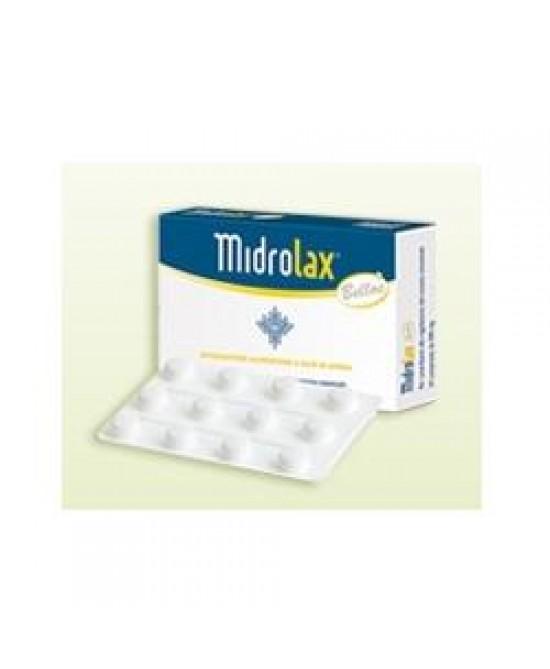 Midrolax Integratore Alimentare  24 Compresse - Zfarmacia
